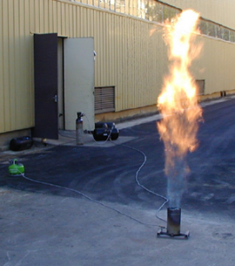 Torchage d'un réservoir GPL