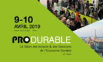 Produrable, les 9 &10 avril 2019