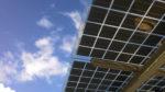 Installation de panneaux solaires en ombrelle